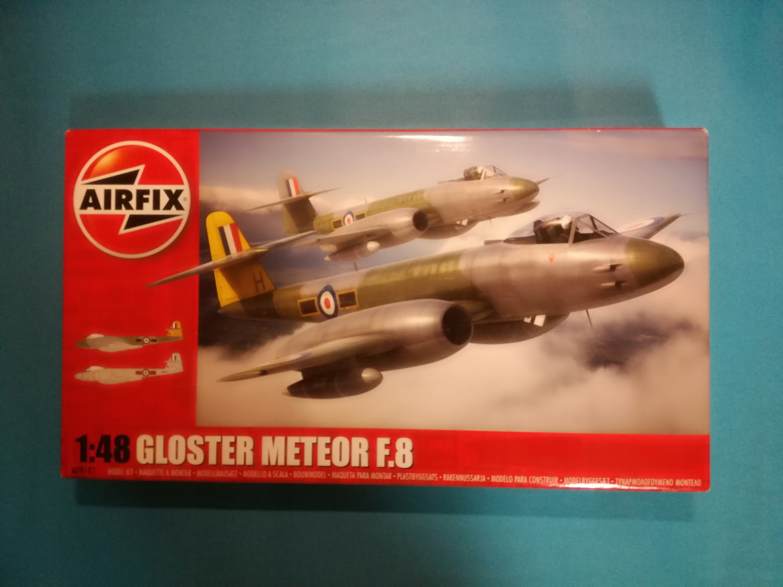 Gloster Meteor F8 Airfix 09182