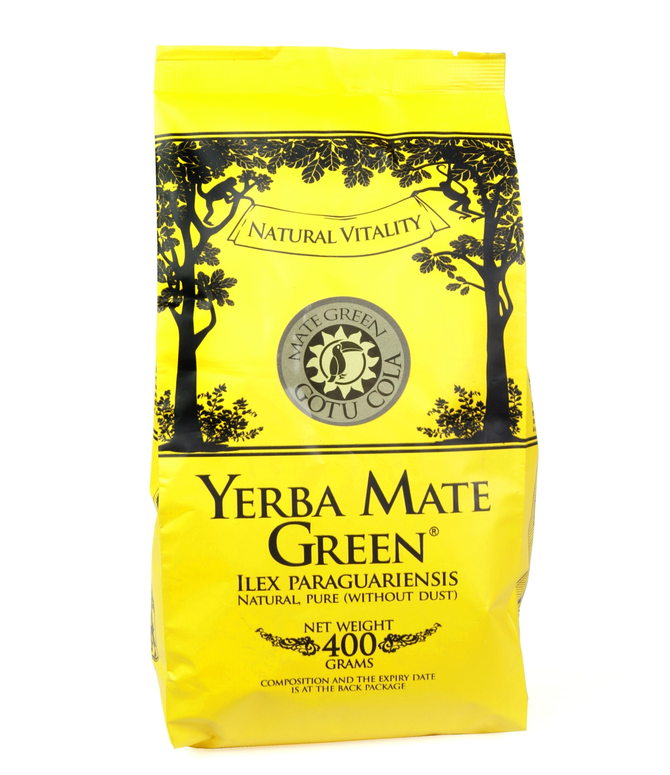 Yerba Mate Green Gotu Cola 400g