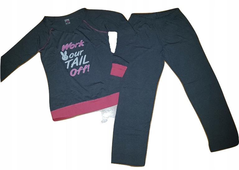 8c94bbf81ab0dd MISS TIKO - piżama damaska bawełna lycra - ROZM.44 - 7676217196 ...