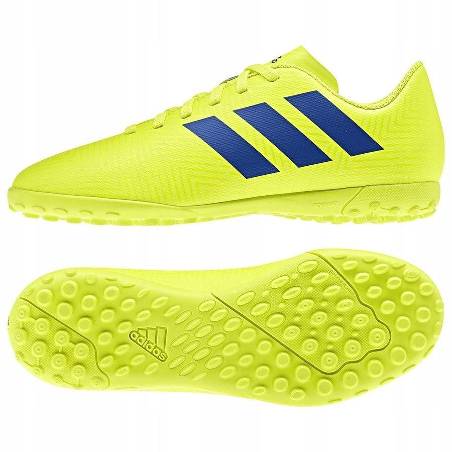 Buty adidas Nemeziz 18.4 TF J CM8522 - ŻÓŁTY; 37