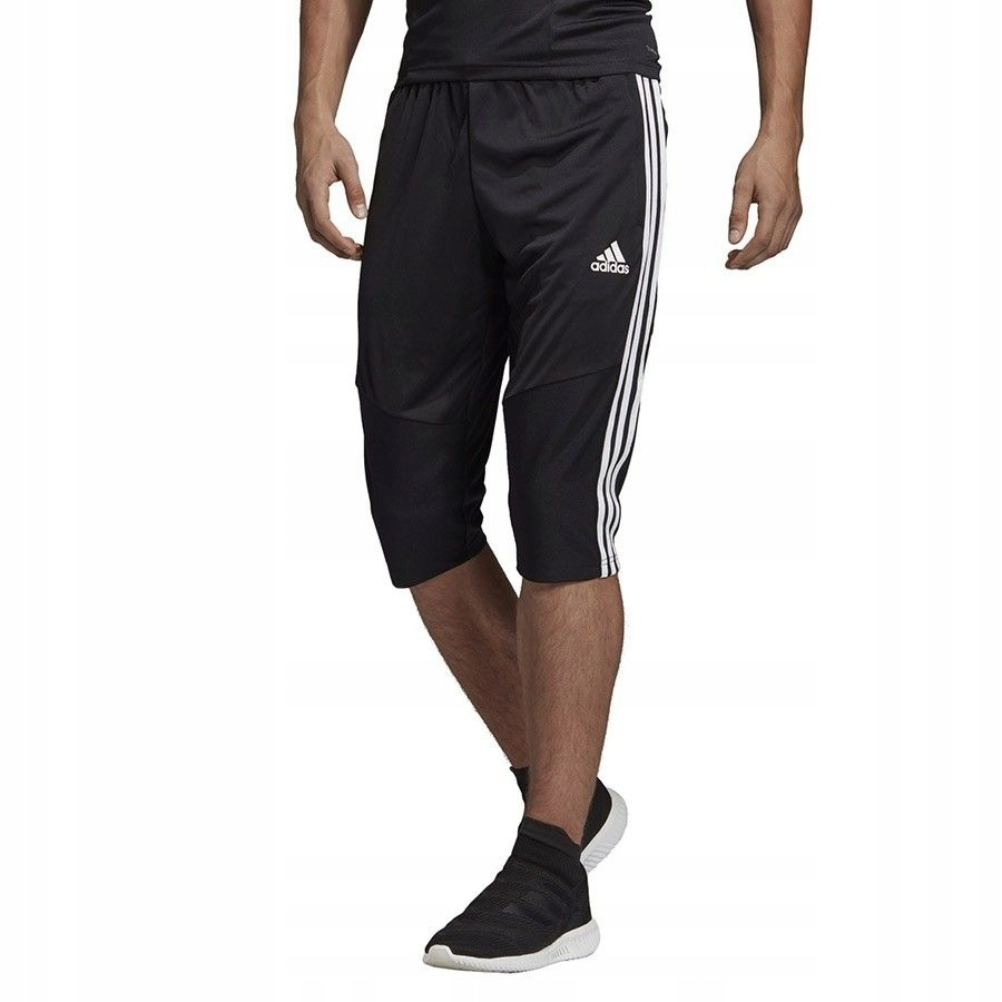 Spodnie adidas TIRO 19 3/4 PNT D95948 - CZARNY; L