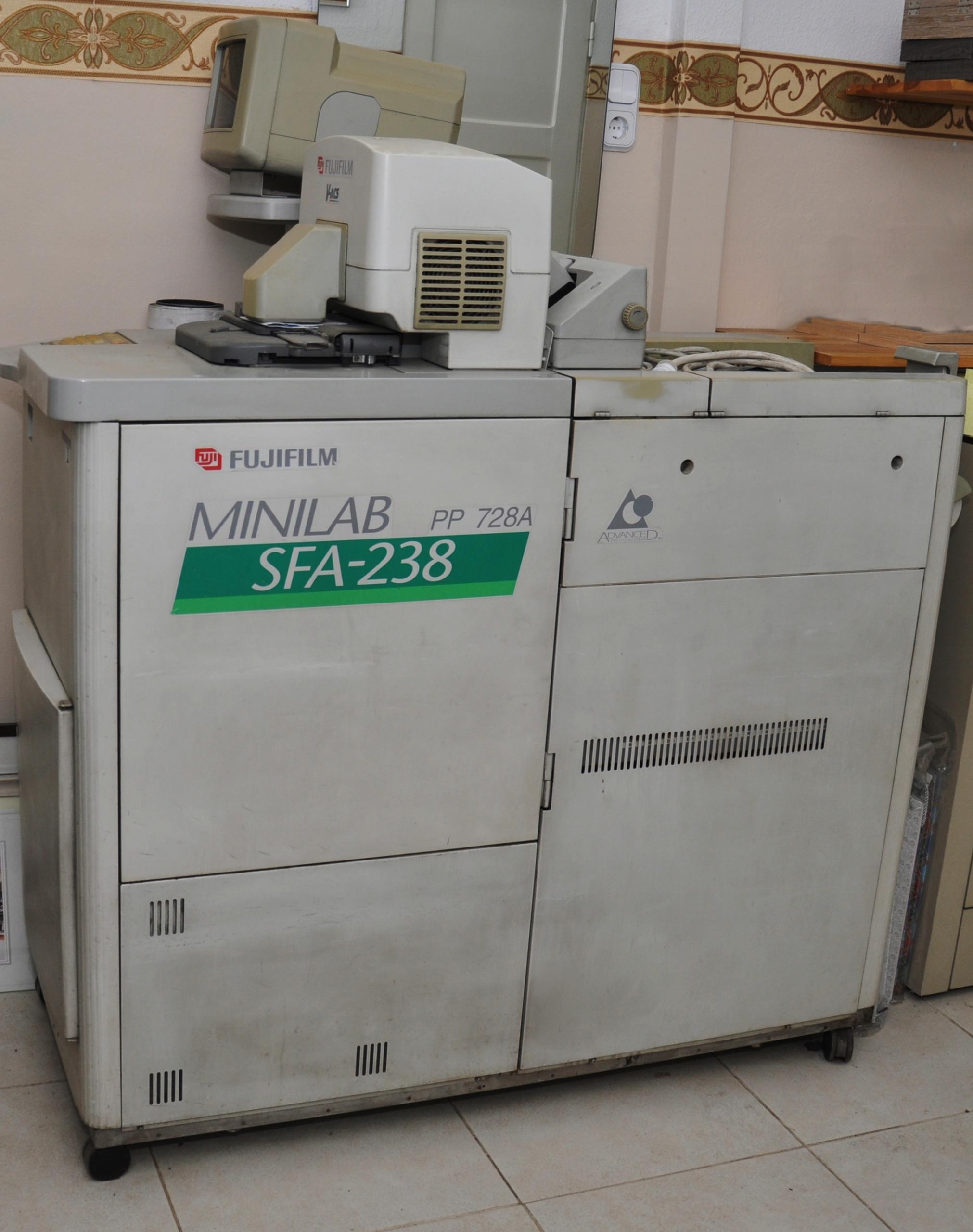 Minilab FUJI SFA 238 + FP 362B