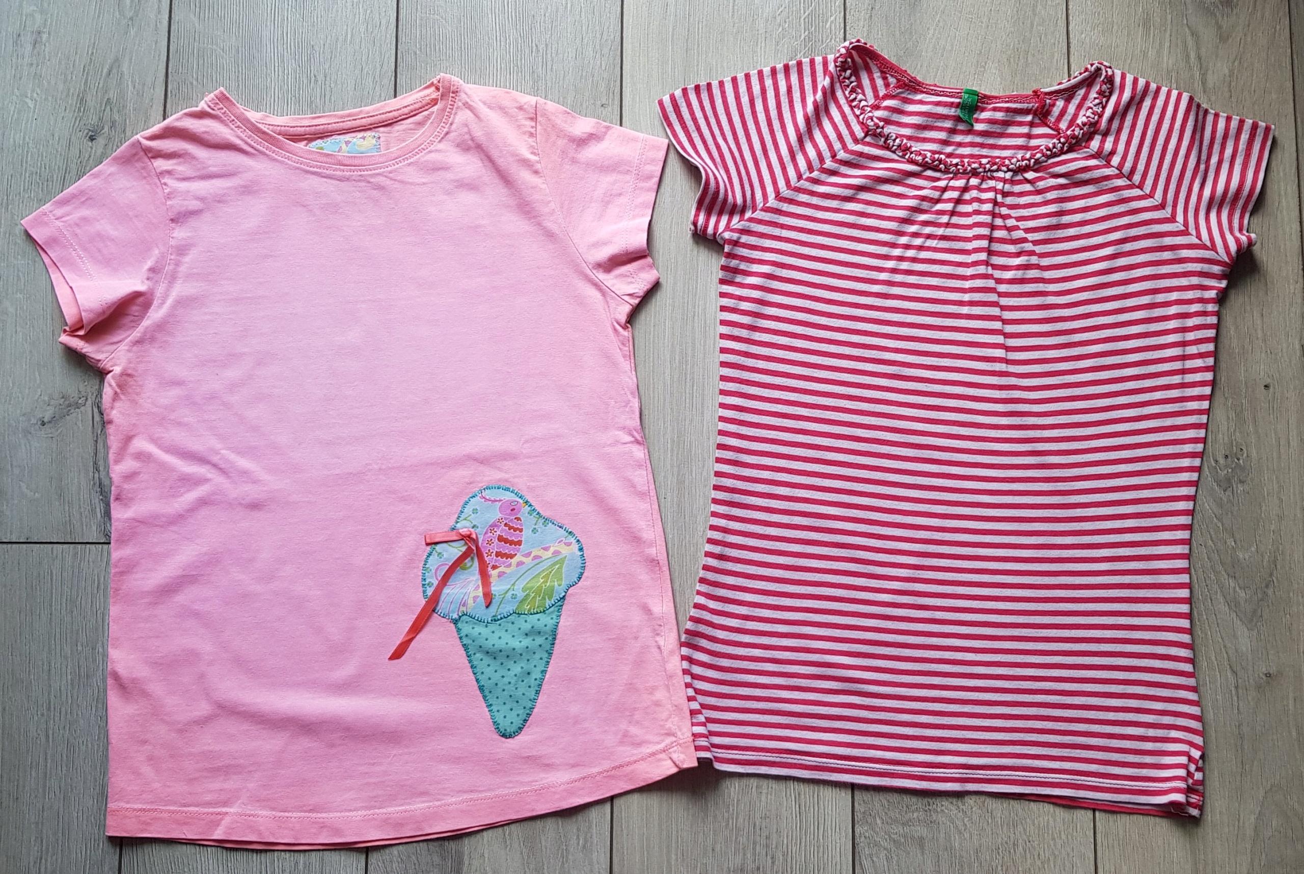 Benetton 2x T-shirt roz.134