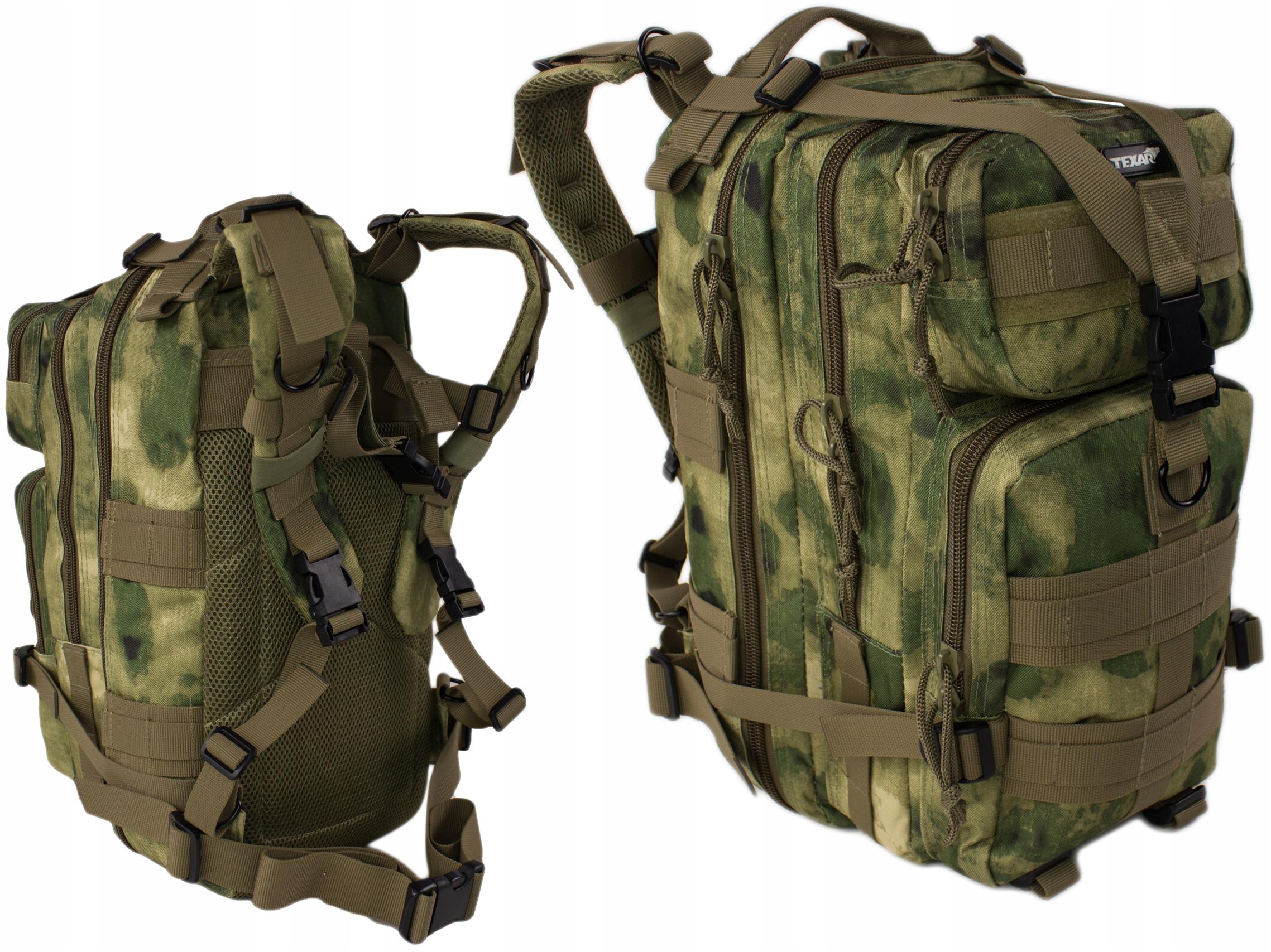 Miejski Plecak Texar TXR 25L Fg-Cam A-Tacs Army
