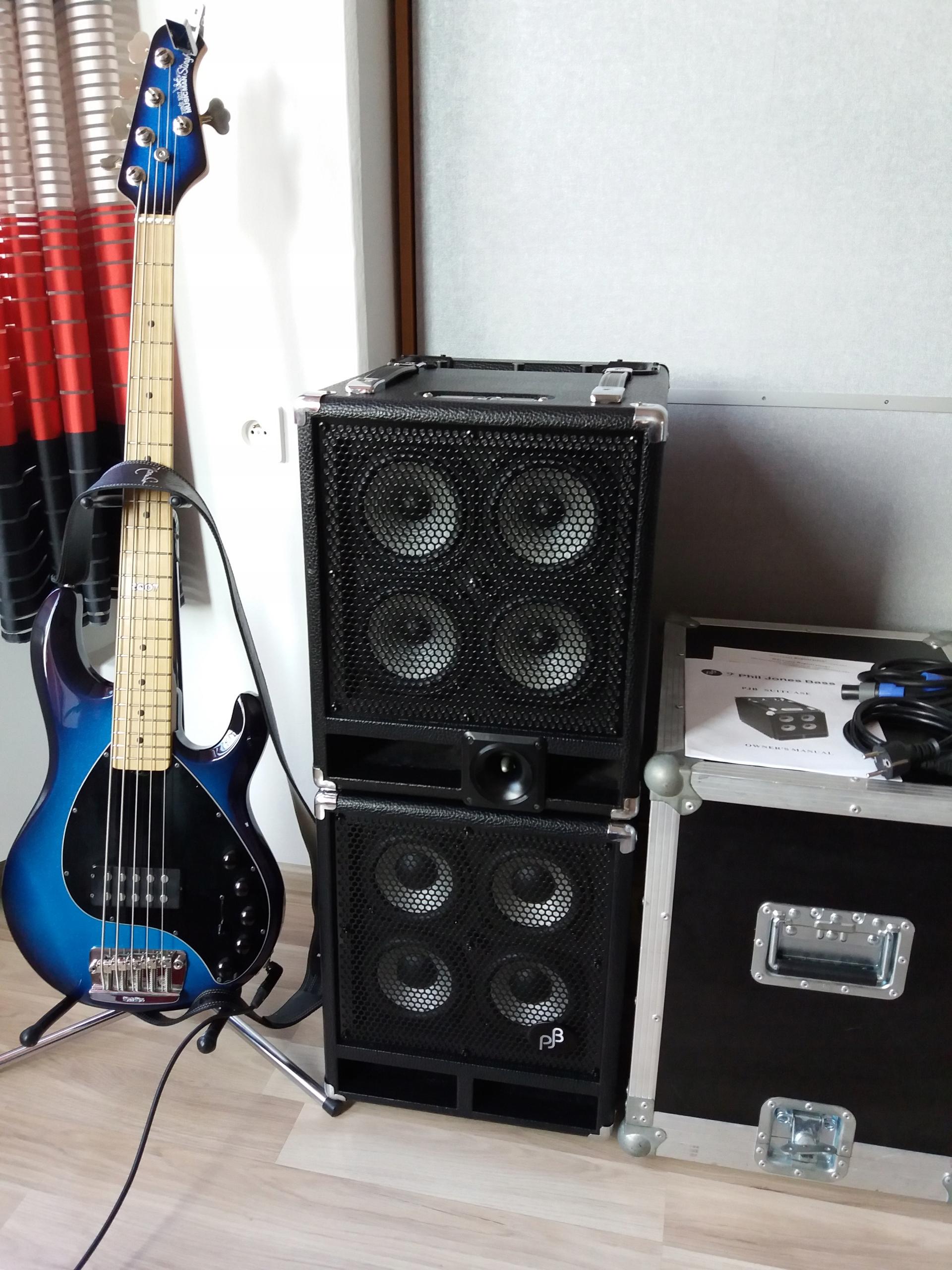 Phil Jones Bass Zestaw basowy 300 W Combo+kolumna