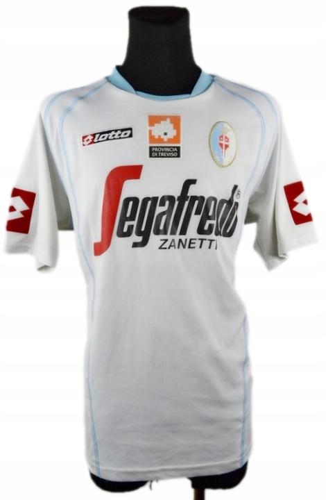 TREVISO FC LOTTO Oryginalna Koszulka Vintage _ XXL