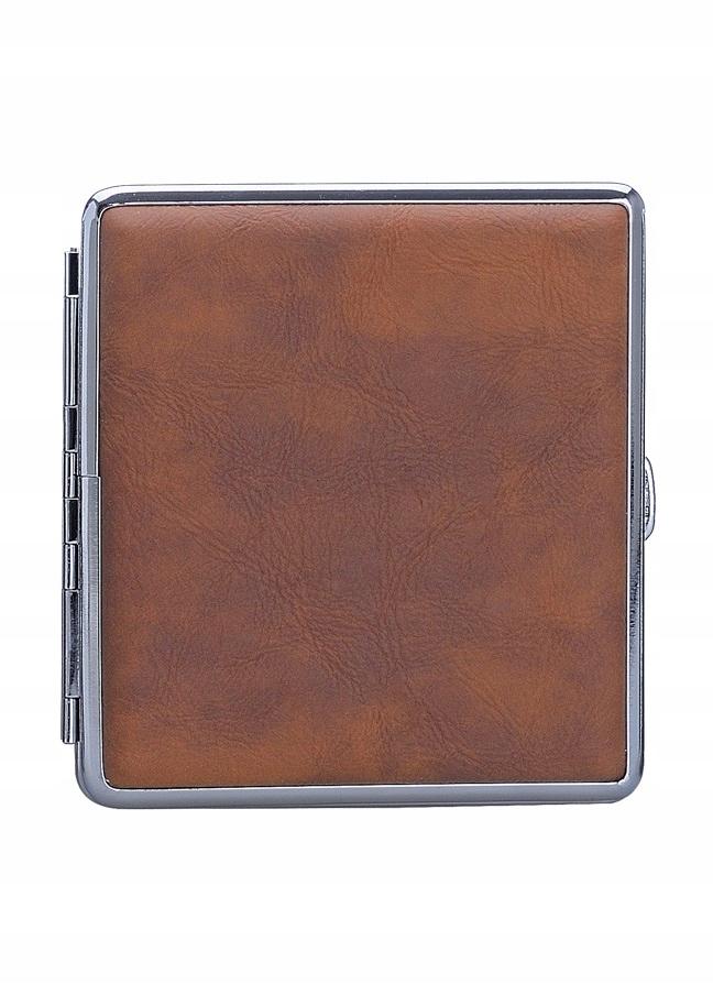 Papierośnica metal eko skóra prezent 40zhh590167 c