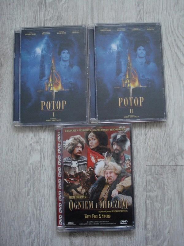 Zestaw płyt DVD Potop i Ogniem i Mieczem