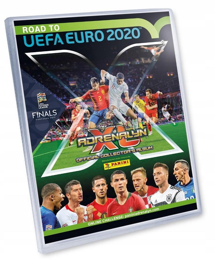 ROAD TO UEFA EURO 2020 Album 225 KART komplet 4 LE