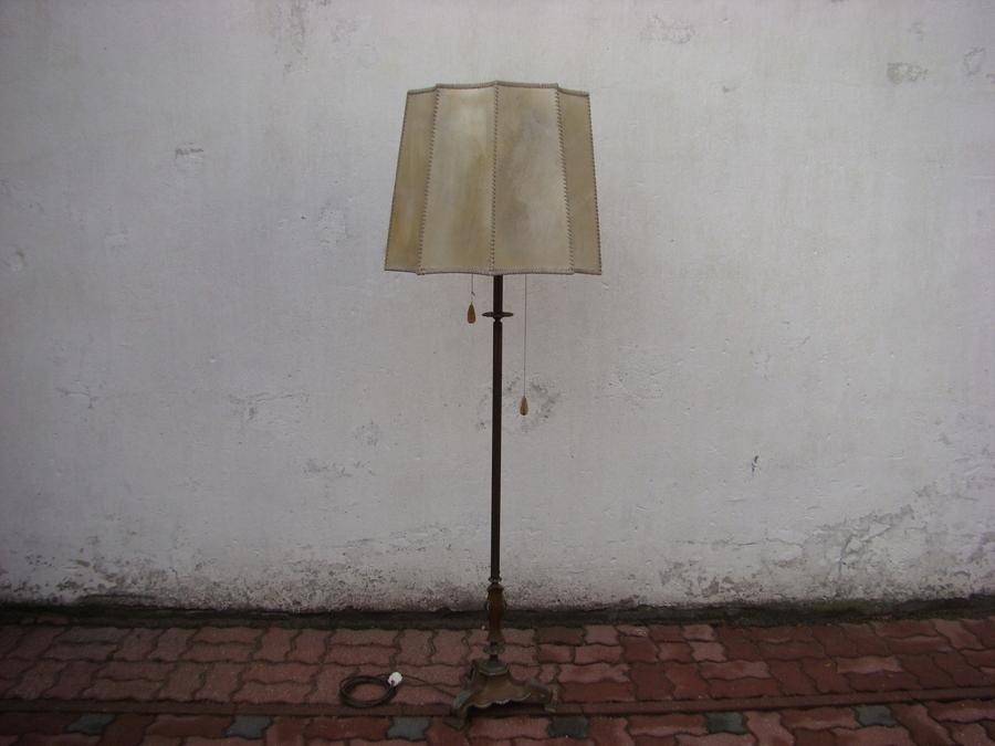 STARA LAMPA MOSIĘŻNA LATA 50/60 -TE