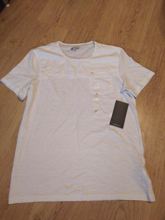 Calvin Klein t-shirt Biały r. M Promocja z 40$ HIT
