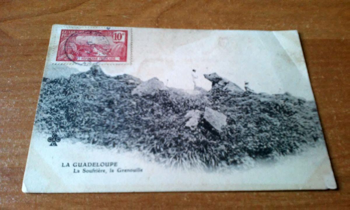 GWADELUPA z obiegu 1907 znaczek
