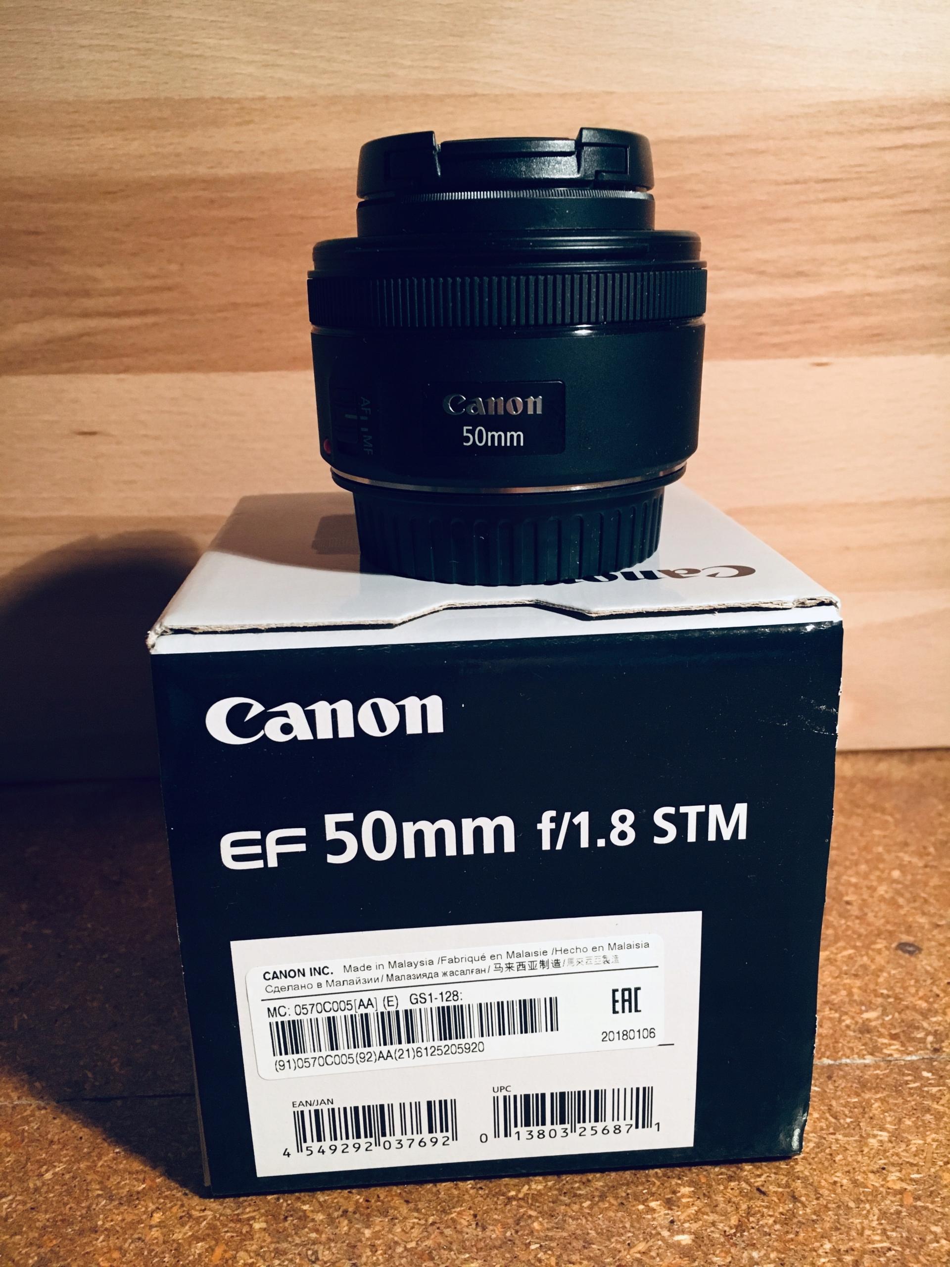 Canon EF 50 mm f/1.8 STM na gwarancji $$$OKAZJA$$$