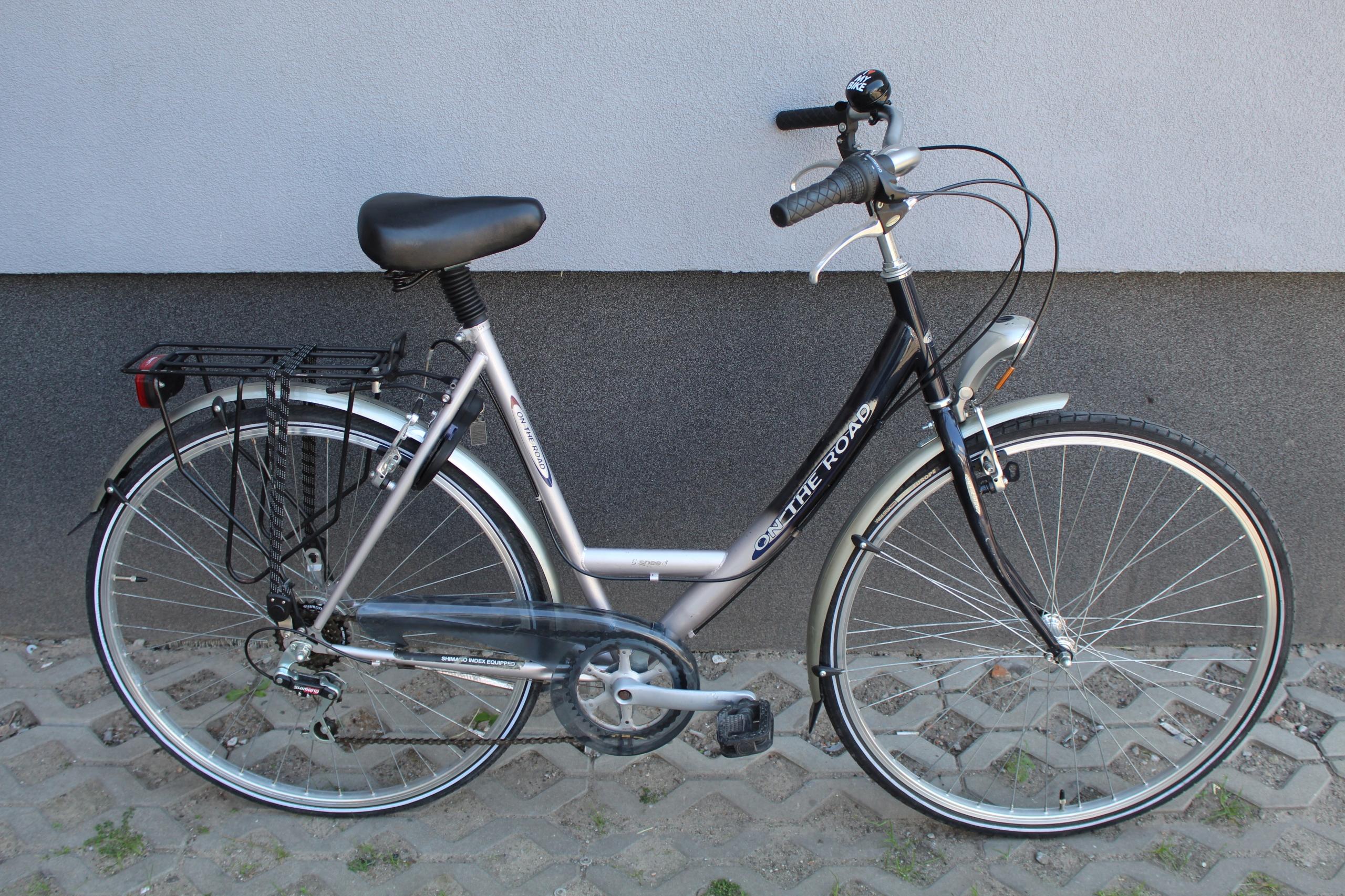 Rower miejski ON THE ROAD, 55 cm, 28, Alu 6 biegów