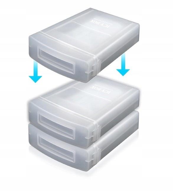 ICYBOX IB-AC602a obudowa ochronna 3,5''
