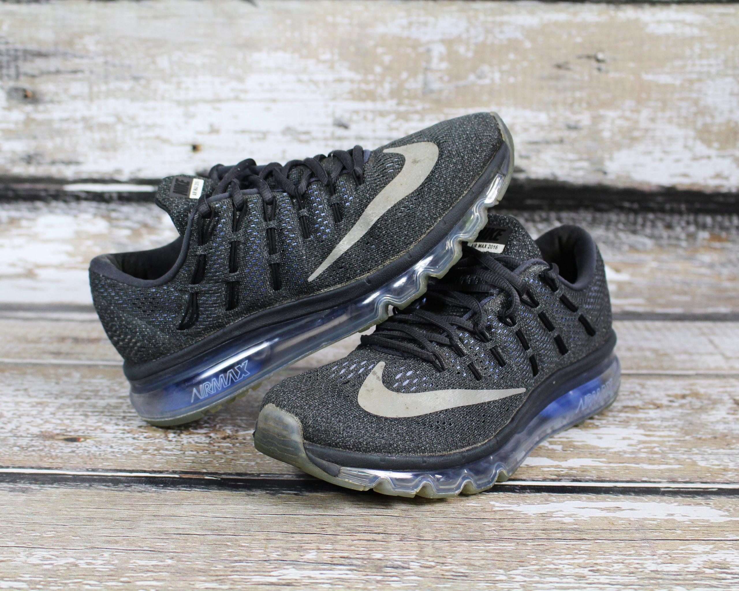 Archiwalne buty sportowe nike AIR MAX 2016 czarne z