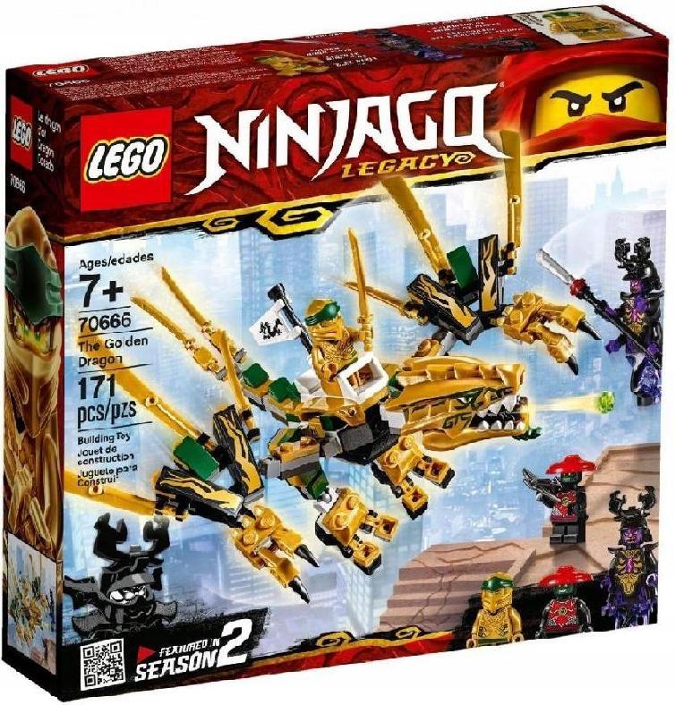 LEGO POLSKA Klocki Ninjago Złoty Smok