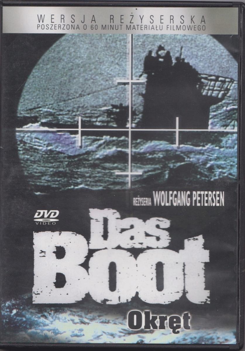 Das Boot Okręt wersja reżyserska DVD