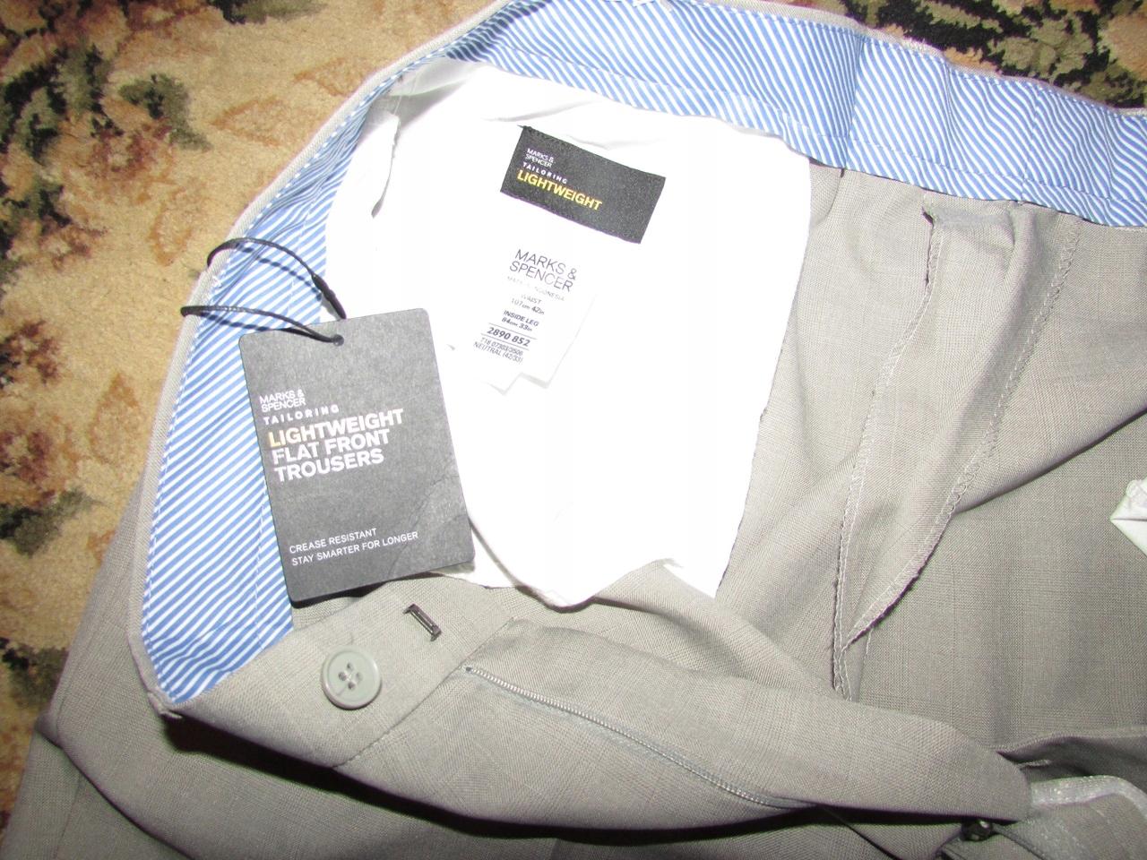spodnie meskie 42/33 nowe