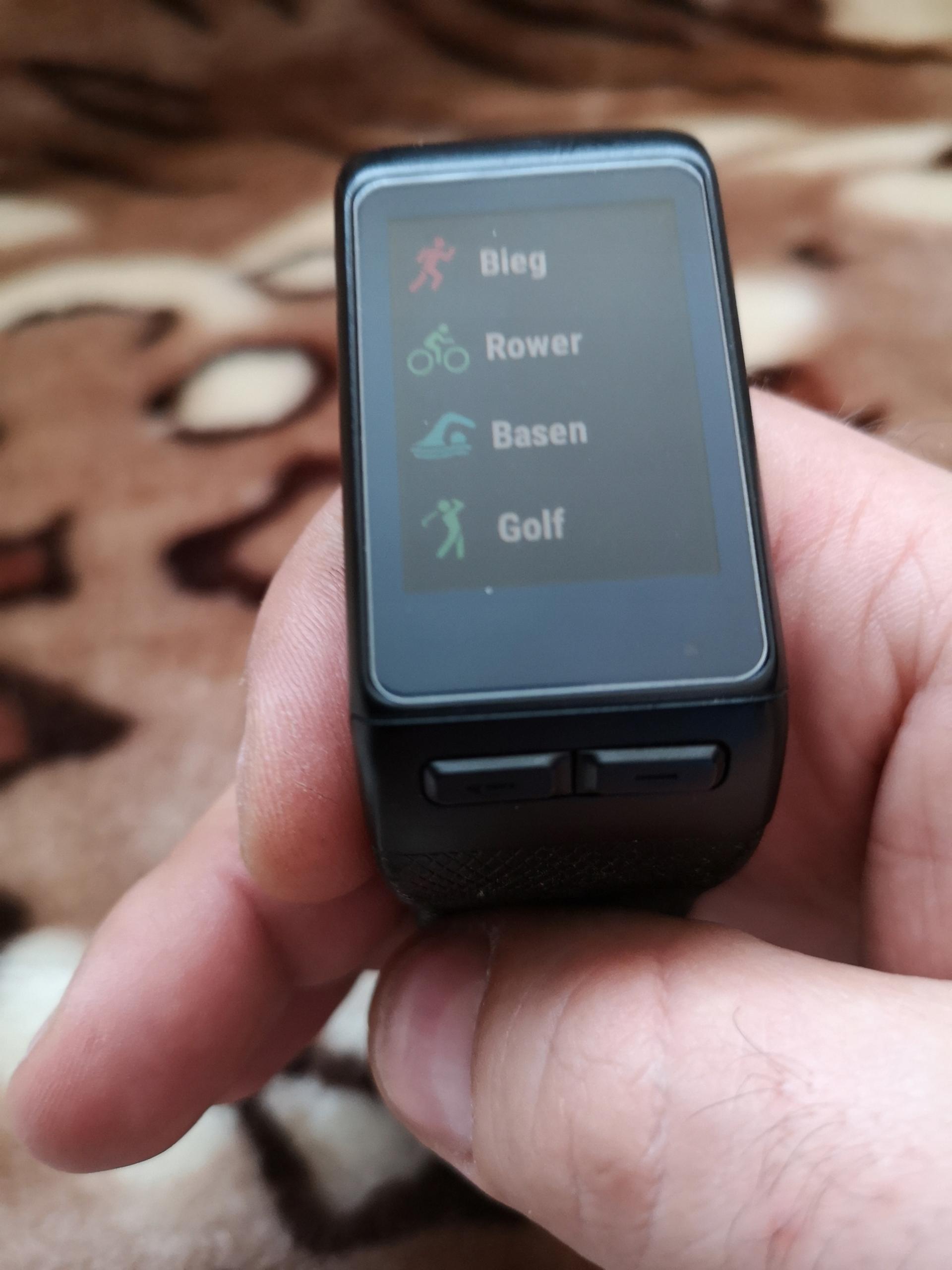 GARMIN VIVOACTIVE HR ELEVATE GPS ZEGAR SMARTWATCH