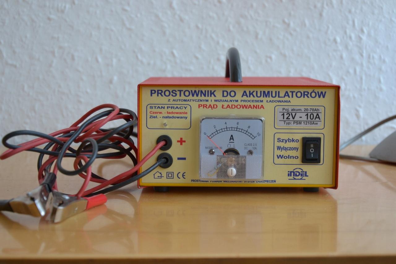 Okazja! Prostownik automatyczny INDEL PSM 1210Aw