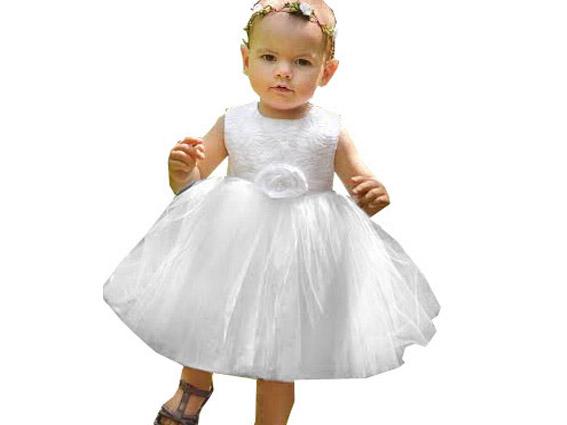 ŁUCJA 2 sukienka tiul CHRZTU chrzest r.80,86