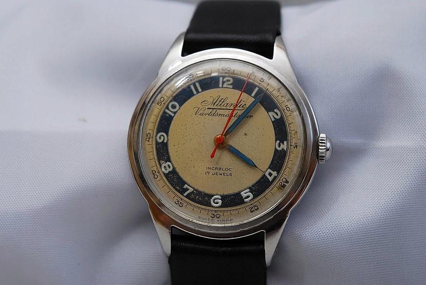 Zegarek -Atlantic 17 Jewels - Męski - Naręczny