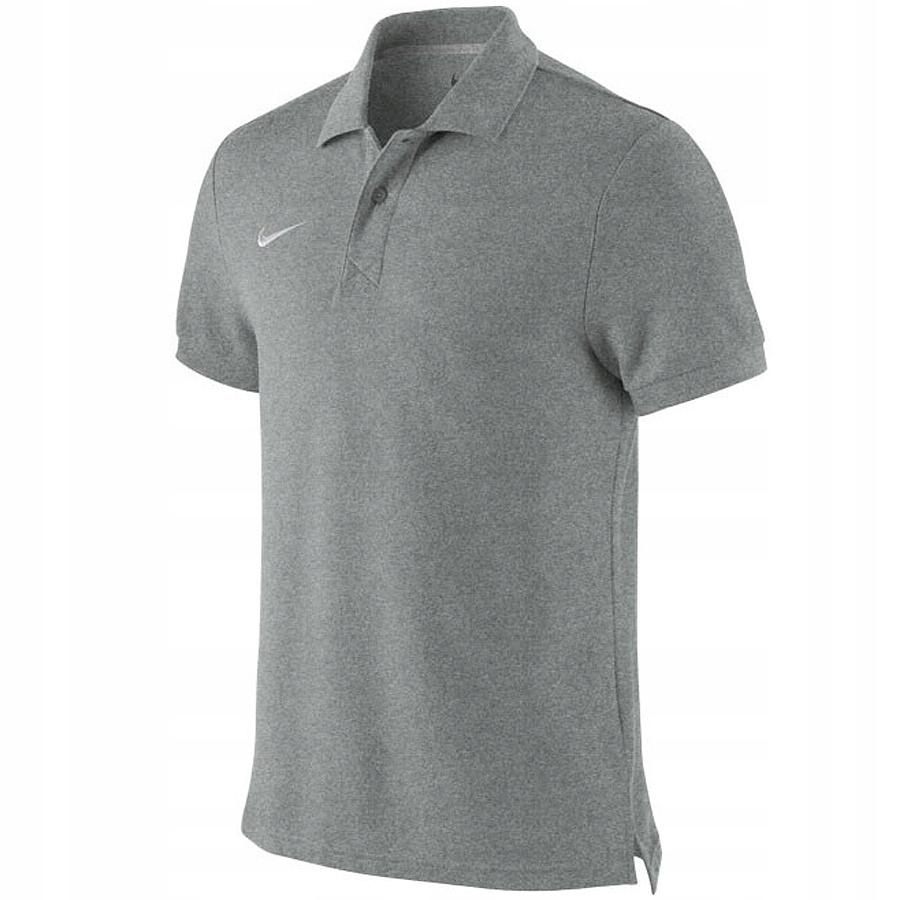 Koszulka Nike TS Boys Core Polo 456000 050 L szary
