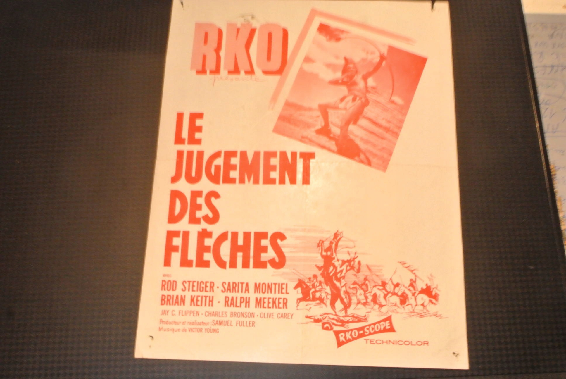 Francja Stare Plakaty Reklamy Afiszy Cinema Film
