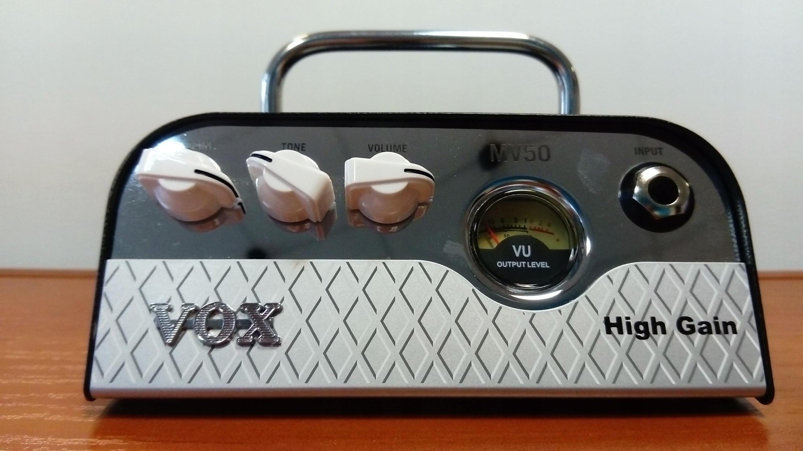 VOX MV50 - HG HIGH GAIN Wzmacniacz gitarowy HEAD