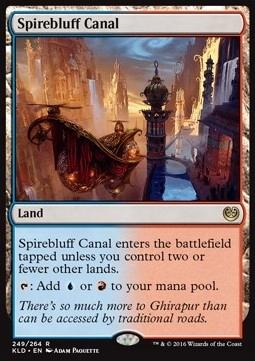 Spirebluff Canal :MTGMARKET