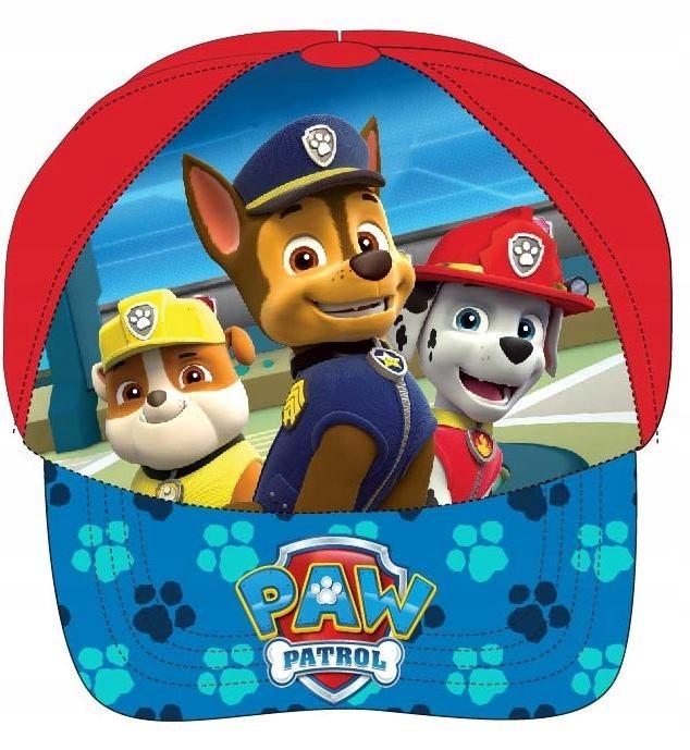 Psi Patrol czapka z daszkiem Chase pieski 52