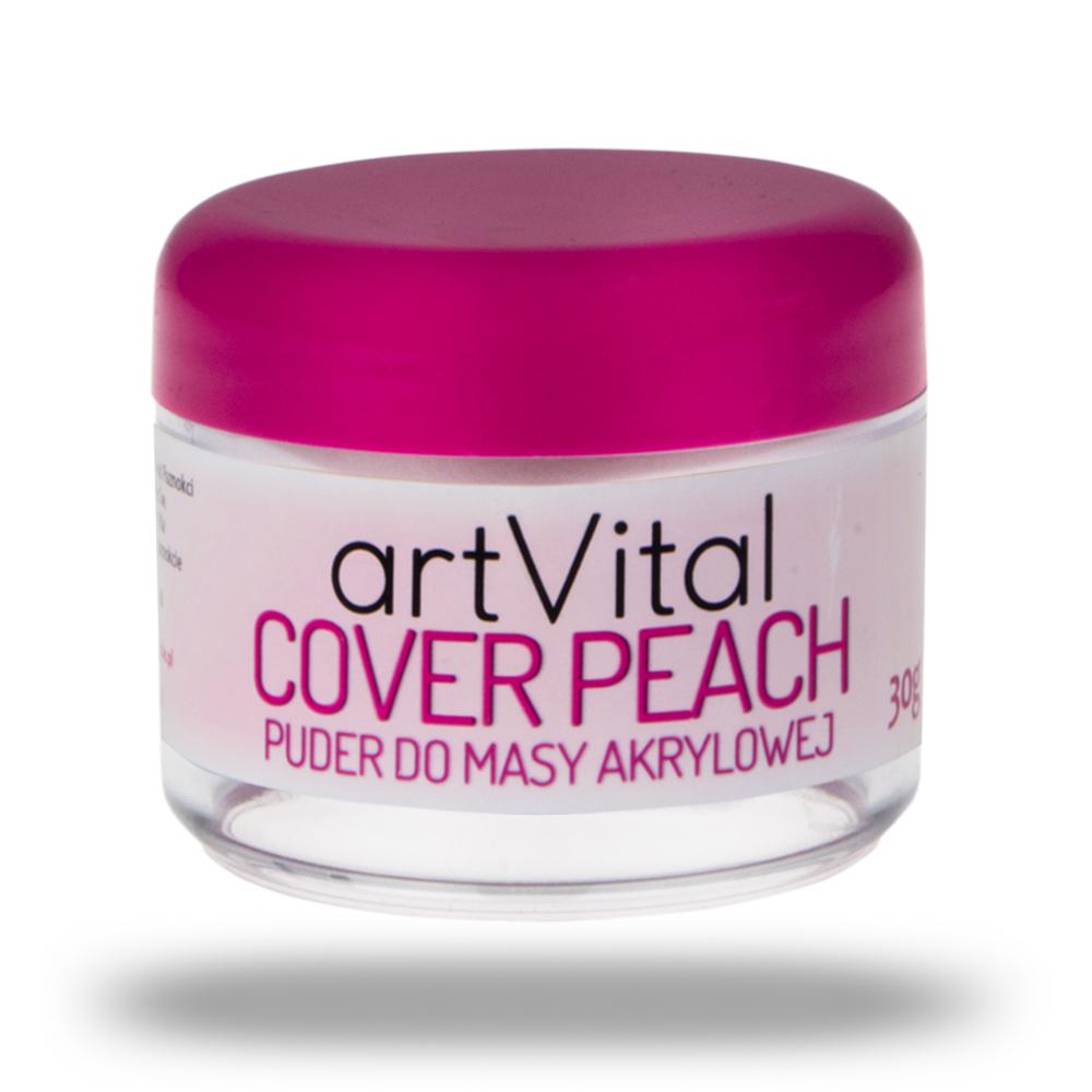 ArtVital akryl proszek COVER PEACH 30g AllePaznokc