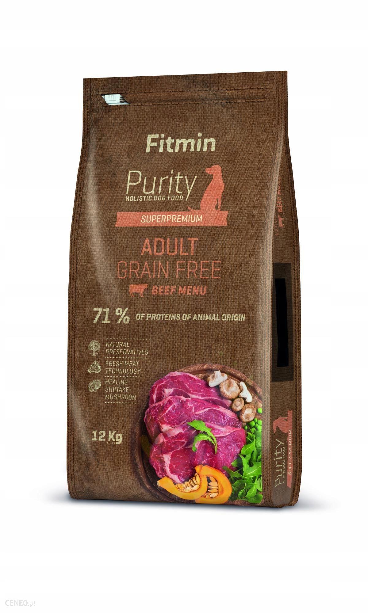 Fitmin Purity Grain Free Adult Beef 2 KG wołowina