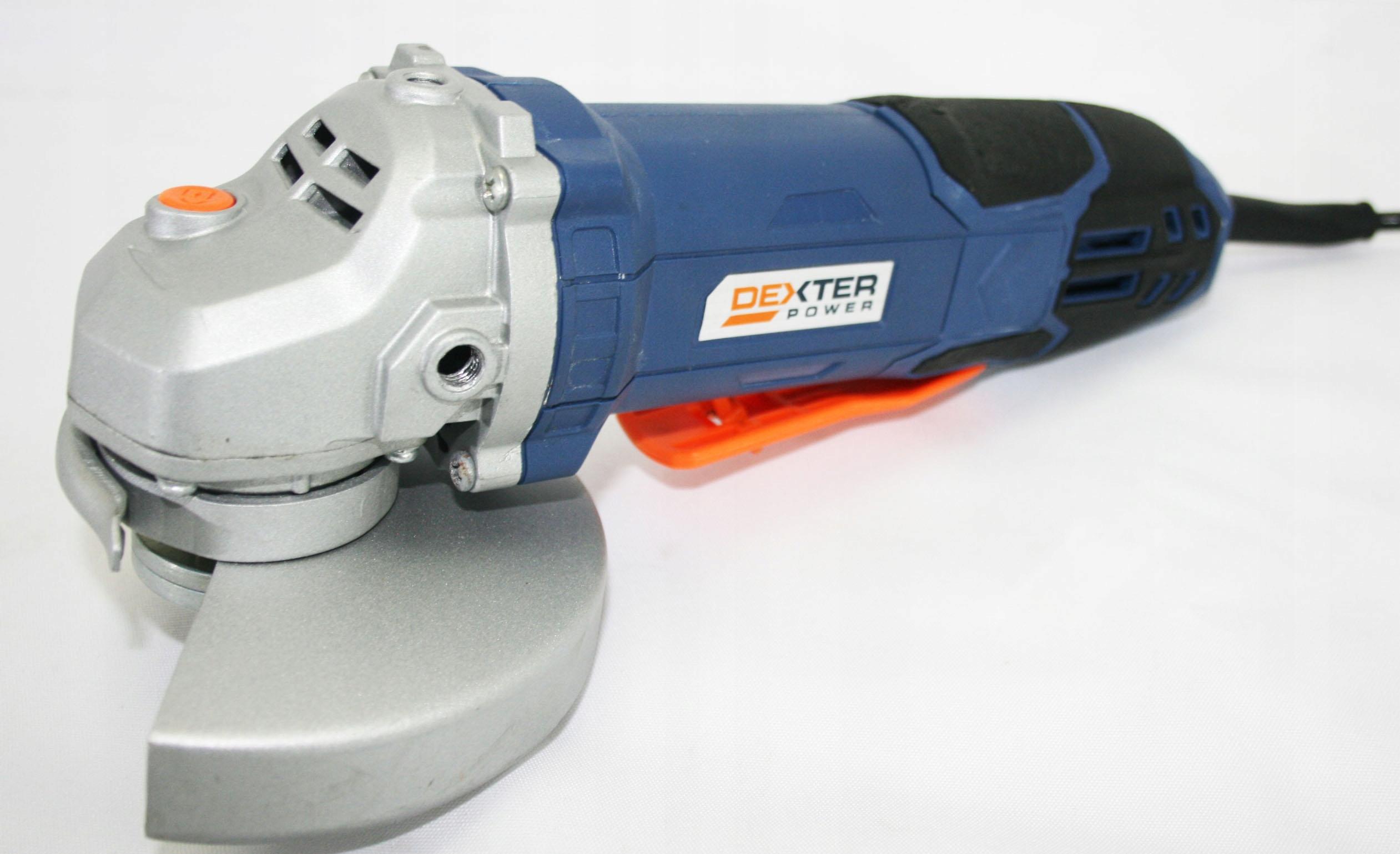 Szlifierka Kątowa Dexter AG125-4 A198