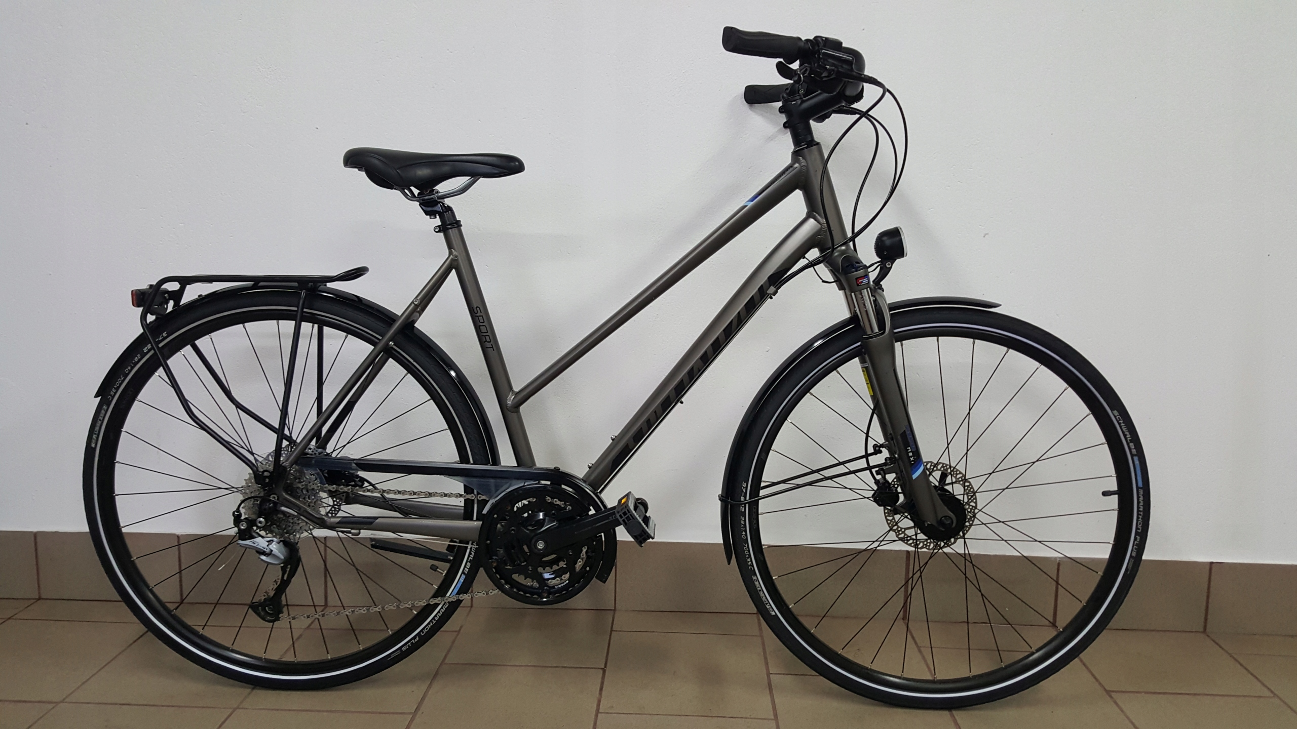 SPECIALIZED CROSSOVER SPORT *55cm* R28 - DISC TRK