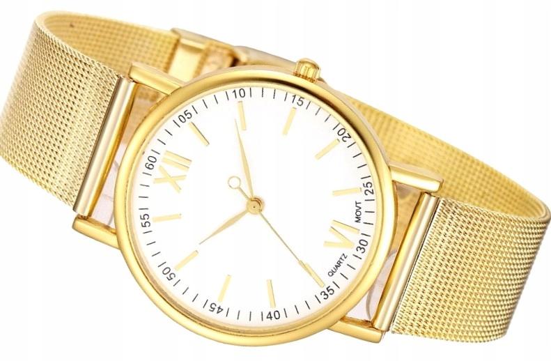 Złoty Zegarek Damski HIT Blogerek ZK23