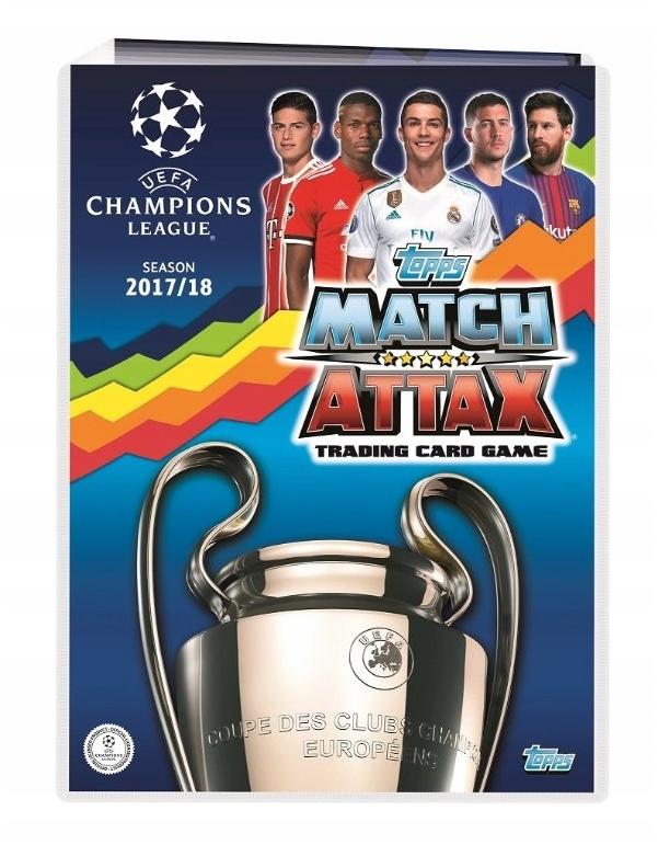 Album oraz 300 kart Champions League 2017/18