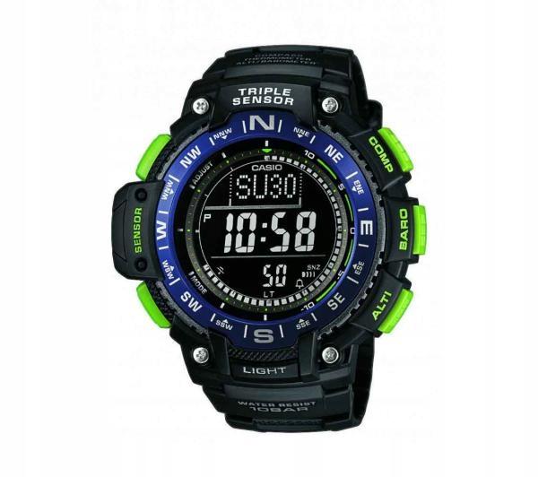 Zegarek sportowy Casio SGW-1000-2BER timer czarny