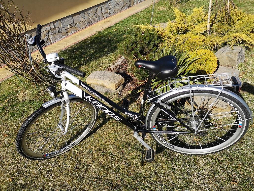 Rower damski miejski koła 28 cali mało używany