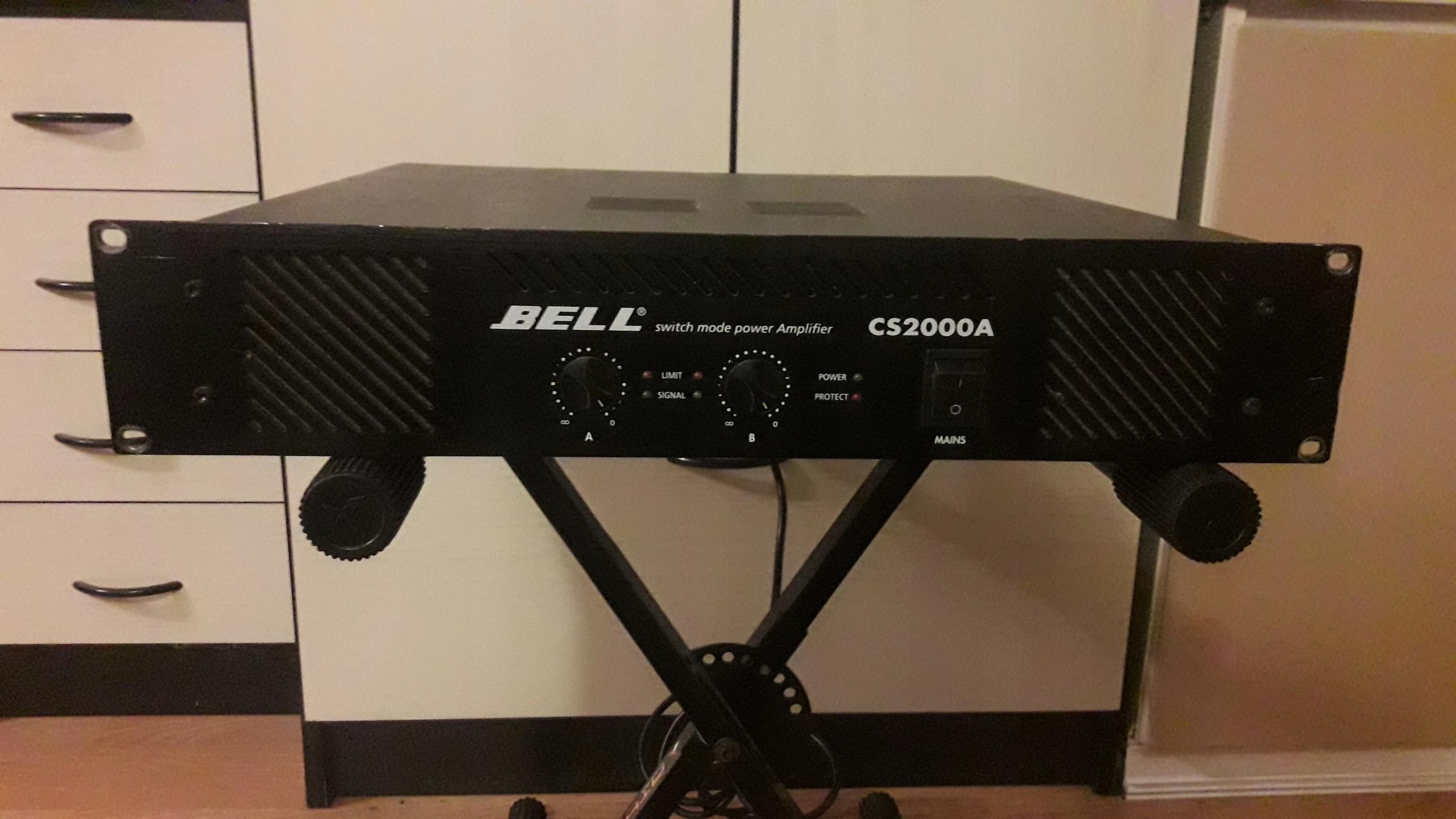BELL CS 2000 A - Końcówka mocy