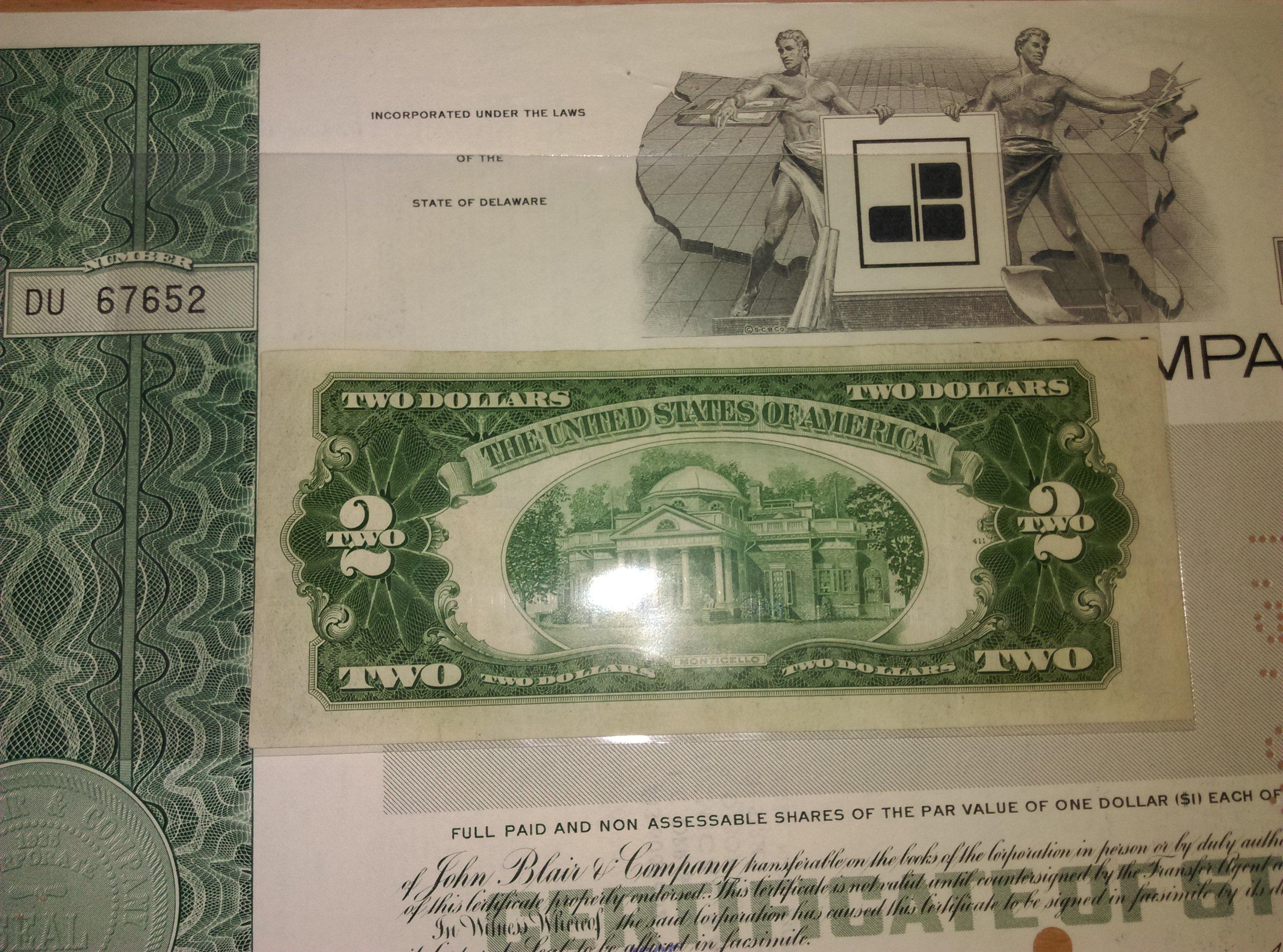 2 dolary **BOSTON** XF 1953