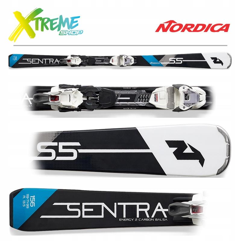 Narty Nordica SENTRA S 5 2019 + TP2 Light 11 150cm