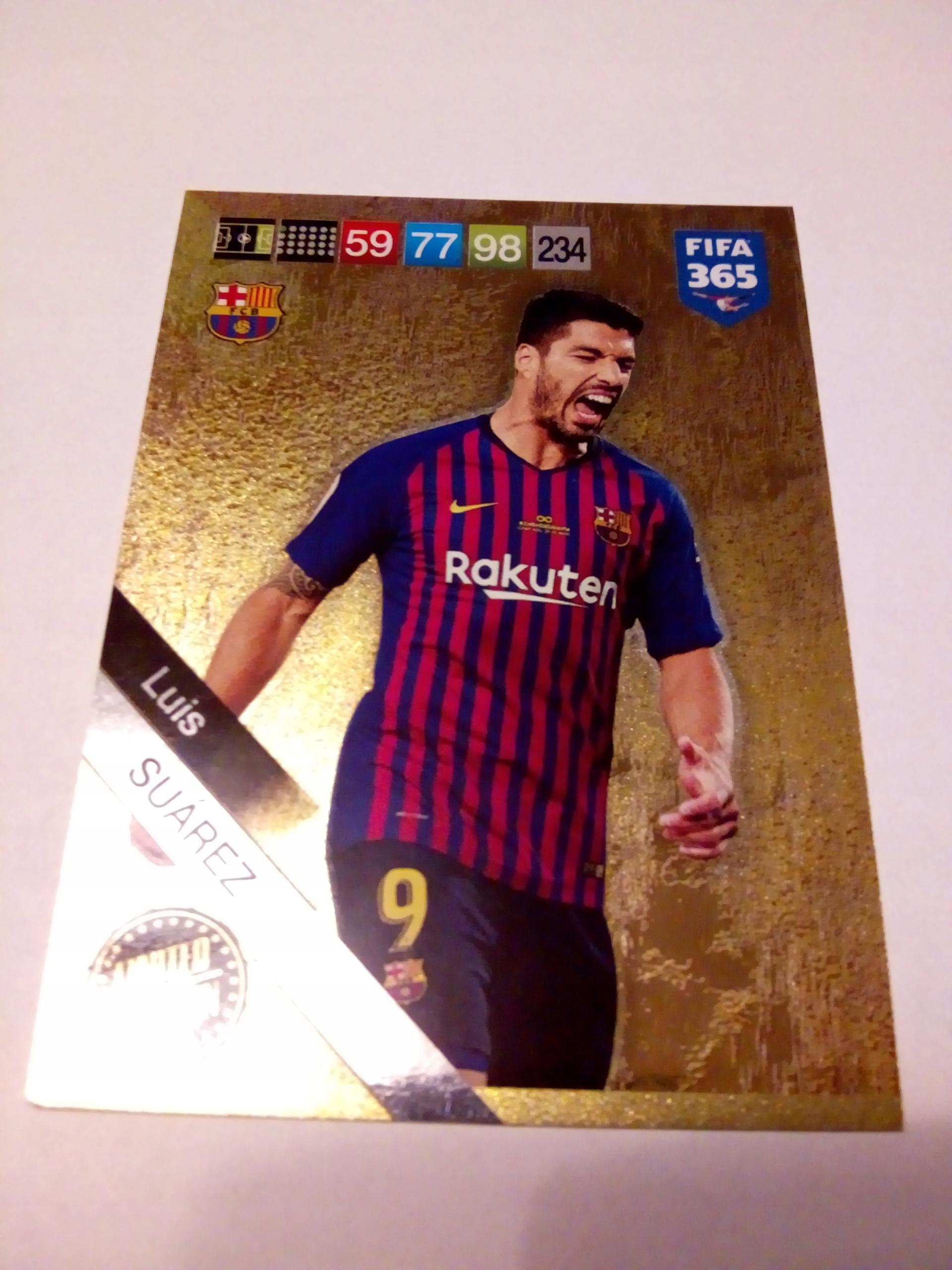 Karta Limited Luis Suarez- FIFA 365 2019