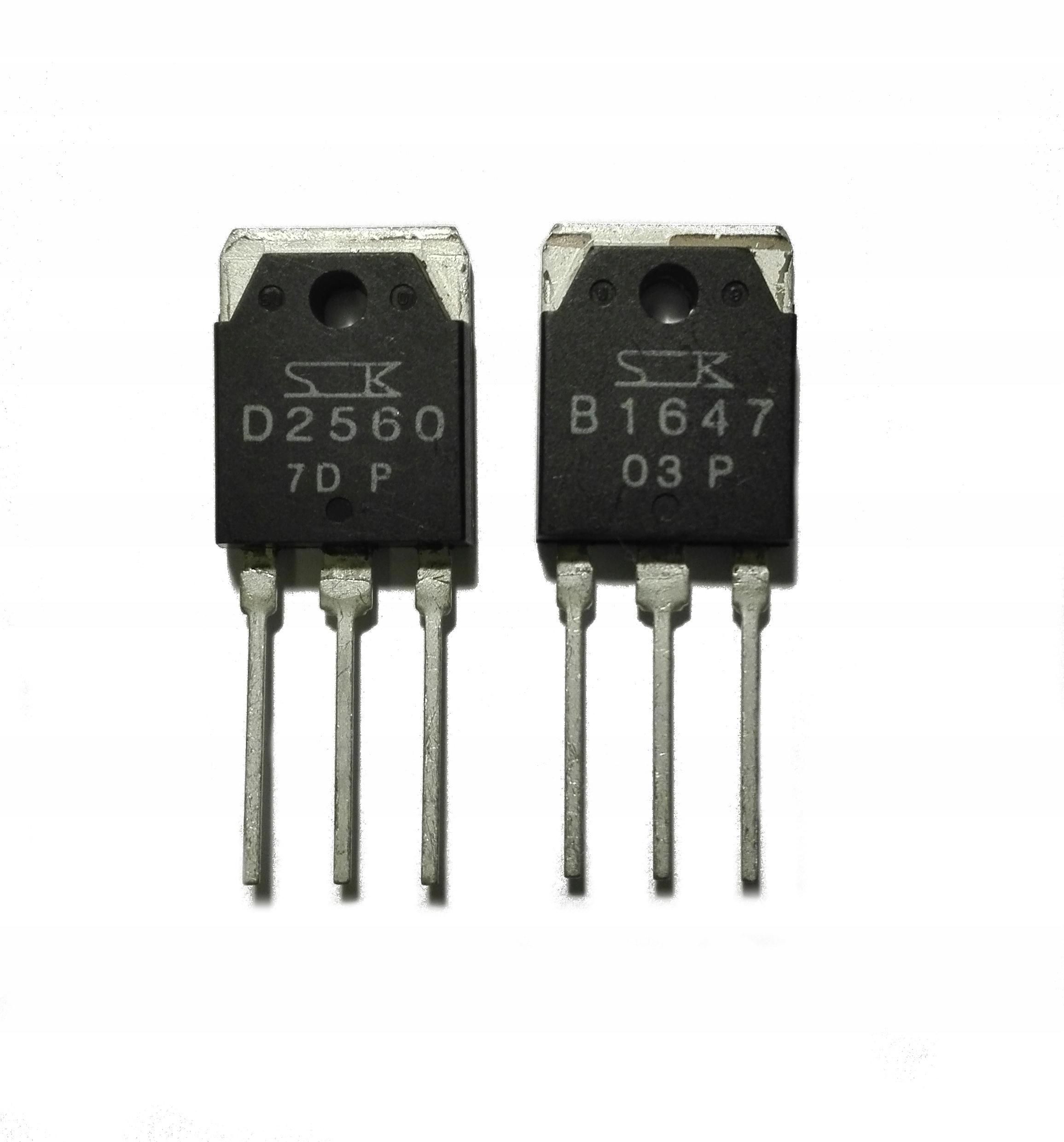 Tranzystory 2SB1647 2SD2560