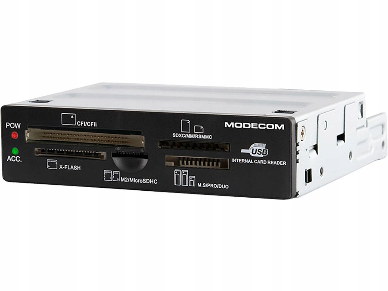 WEWNĘTRZNY CZYTNIK KART PAMIĘCI SD CF MS USB 2.0 !