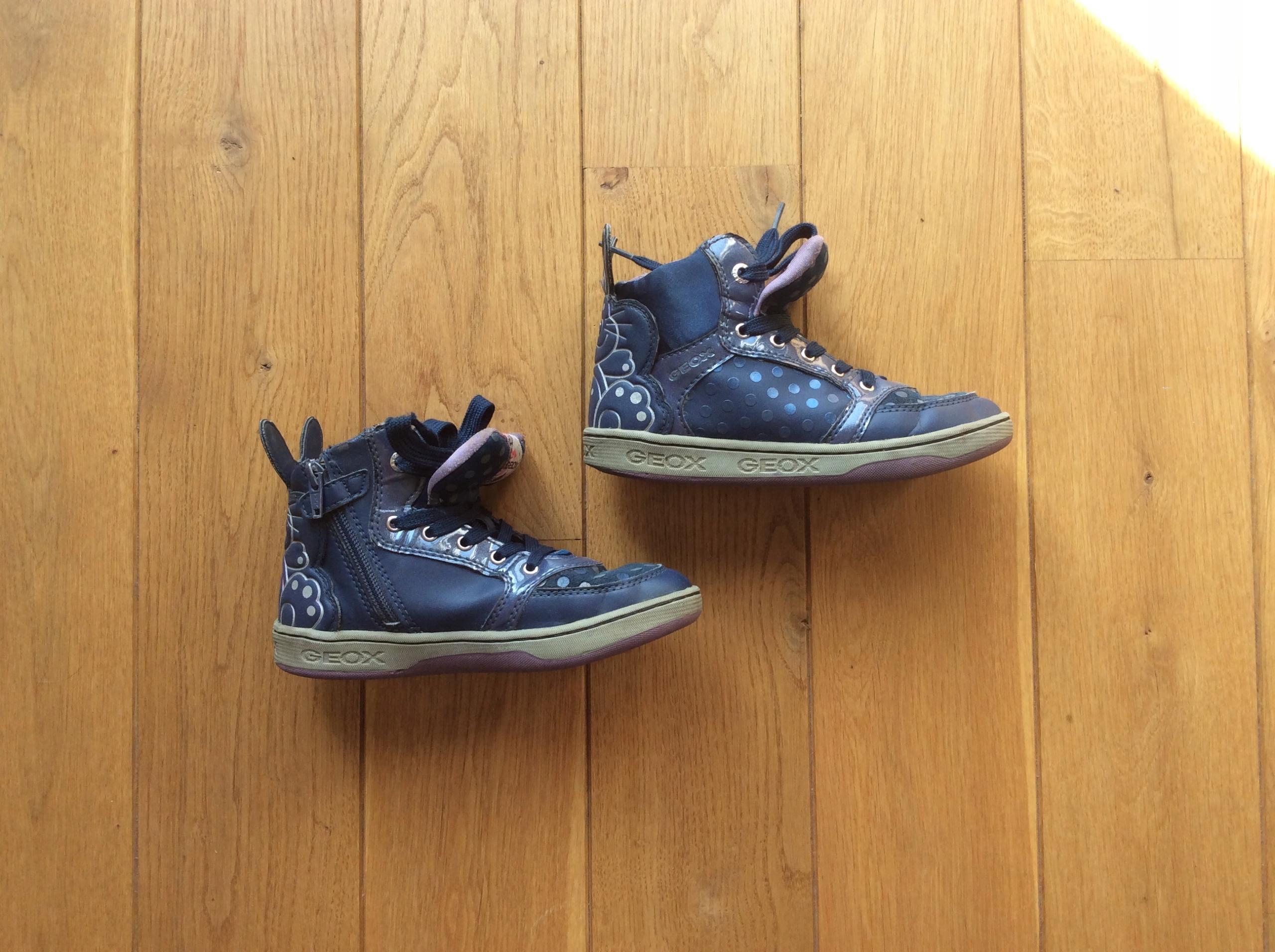 Buty geox granatowe dziewczynka 32 z zajączkiem