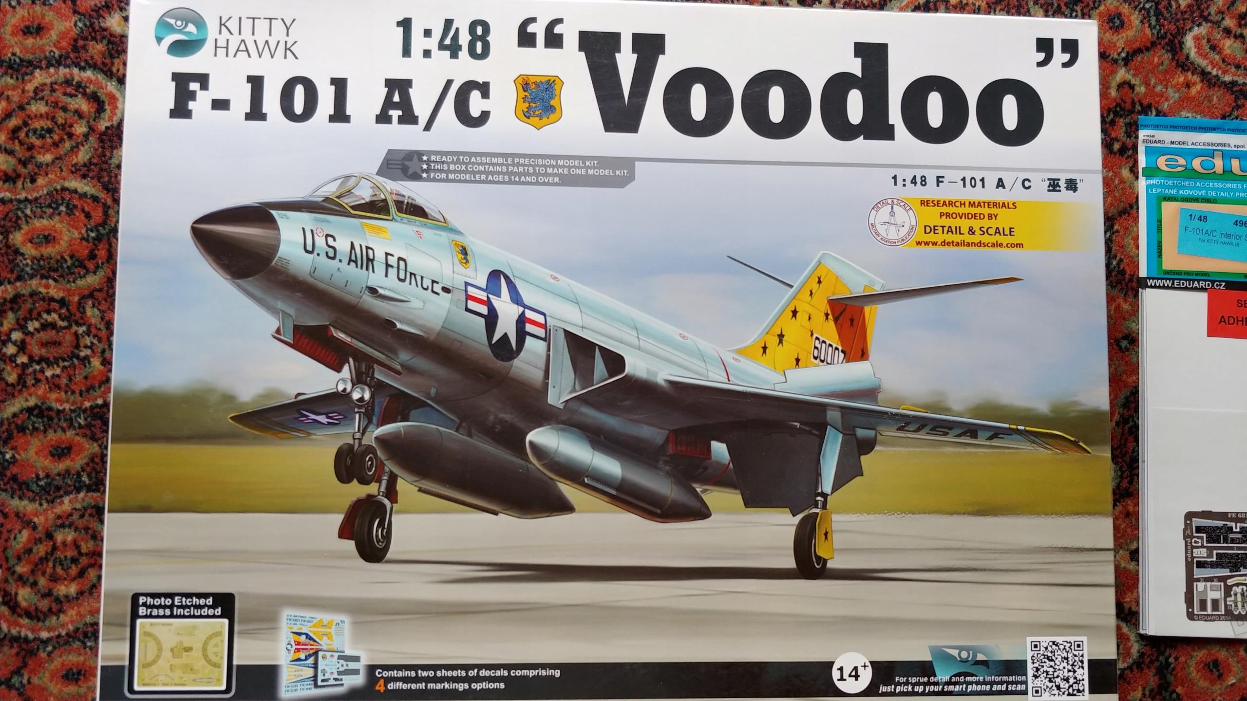 Kitty Hawk F-101A/C Voodoo mega zestaw