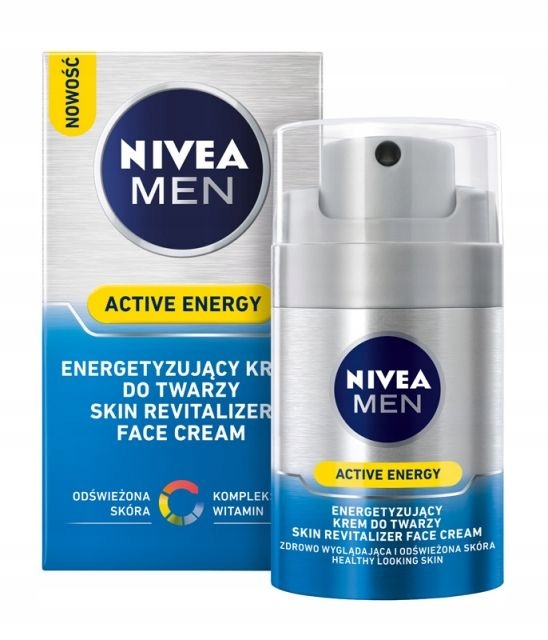Nivea Men krem Active Energy 50ml