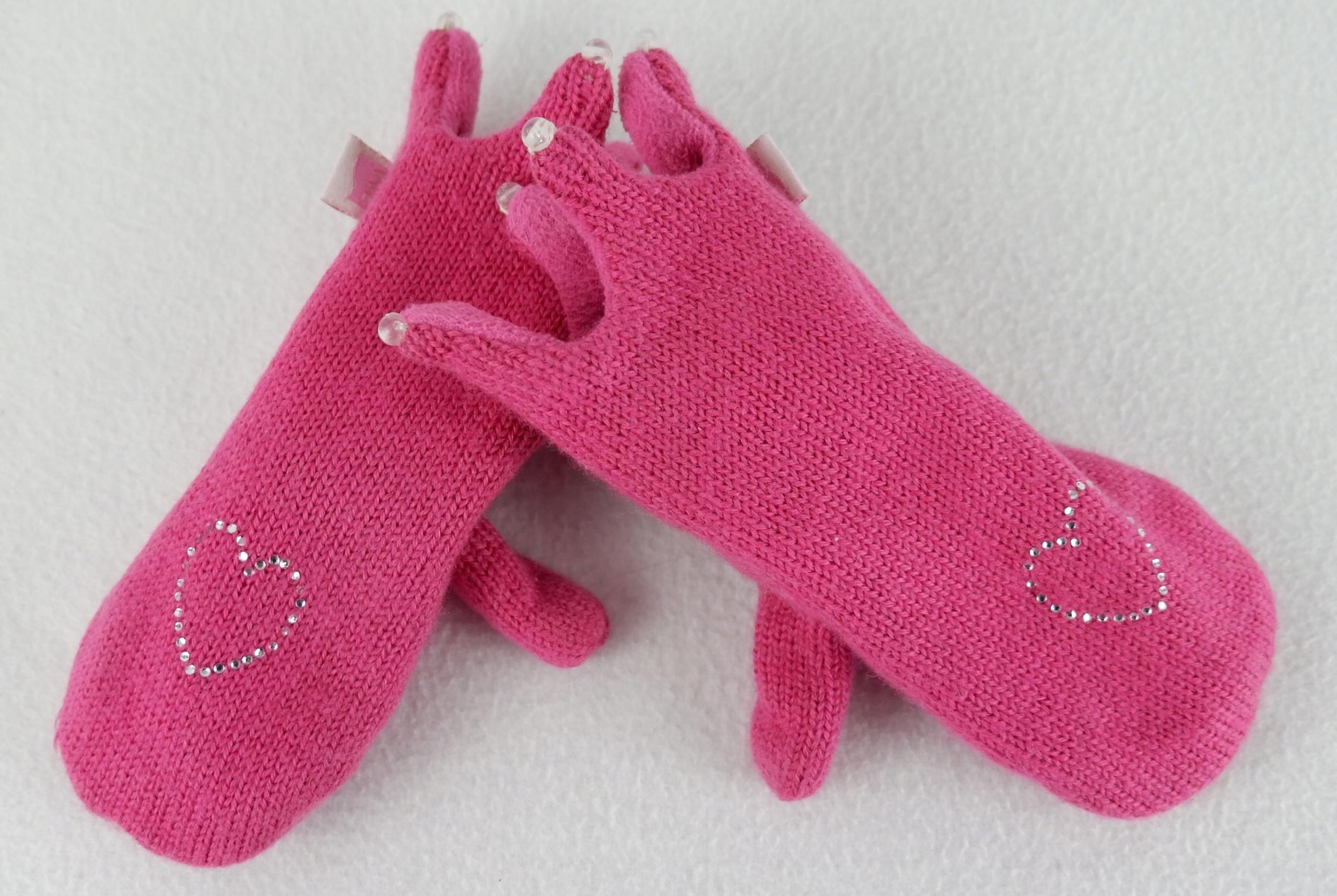 WE wool exclusive rękawiczki wełna 98 104 110 116